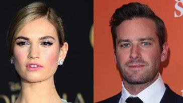 Lily James Armie Hammer.jpg