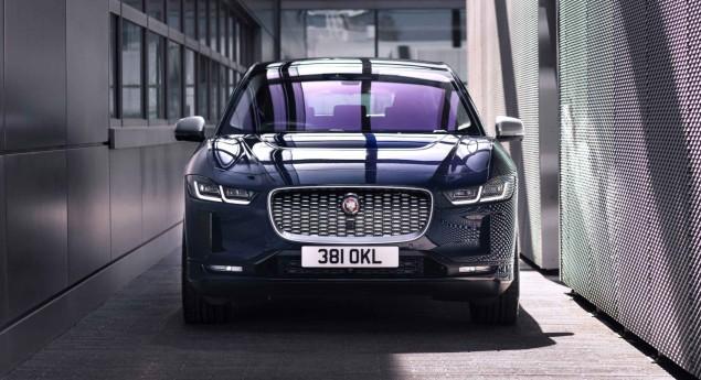 Jaguar I Pace Avec Recharges Plus Rapides Et Mises à Jour