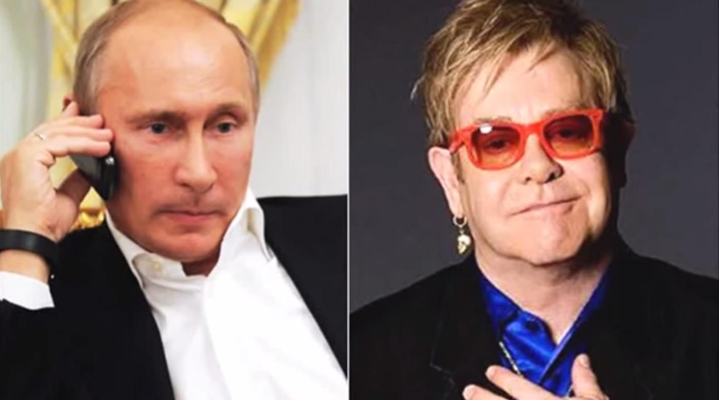 Elton John A Dit à Andrew Marr De Donner à