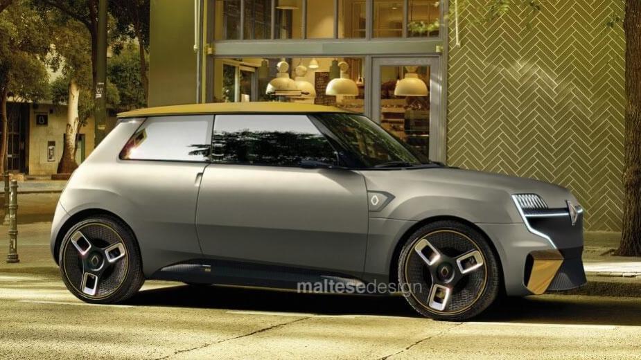 Le 5 Concept Imagine Le Retour De L'historique Renault 5