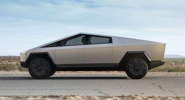 Ce Sera Possible? Tesla Prépare Un Nouveau Look Pour Cybertruck