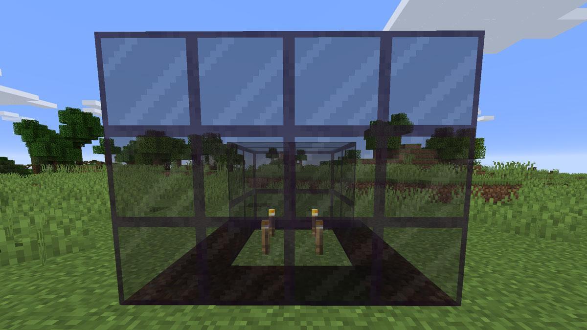 Comment Faire Du Verre Teinté Dans Minecraft
