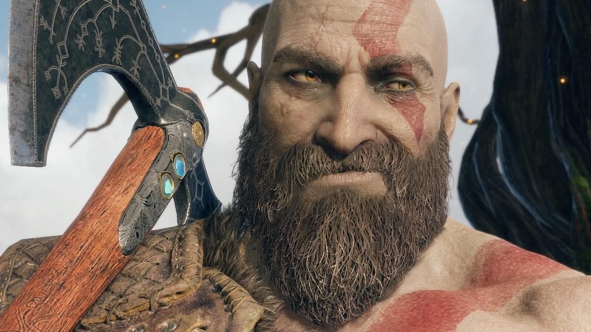 God Of War: Le Kratos Rasé Nous Rappelle Trevor De
