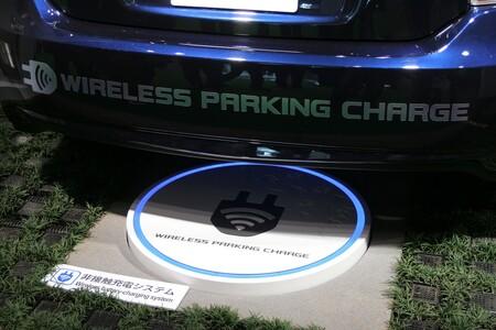 Stationnement de recharge sans fil
