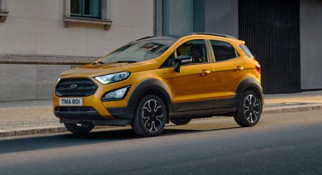 Penser à L'aventure. Ford Ecosport Active Maintenant Disponible Au Portugal