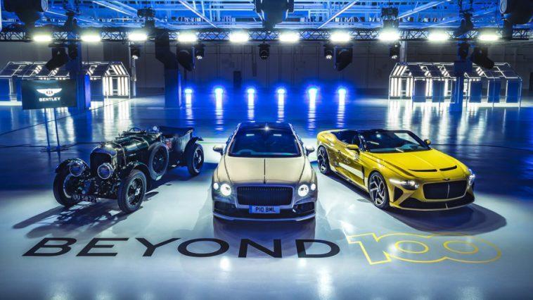 En 2030, Toutes Les Bentley Seront 100% électriques