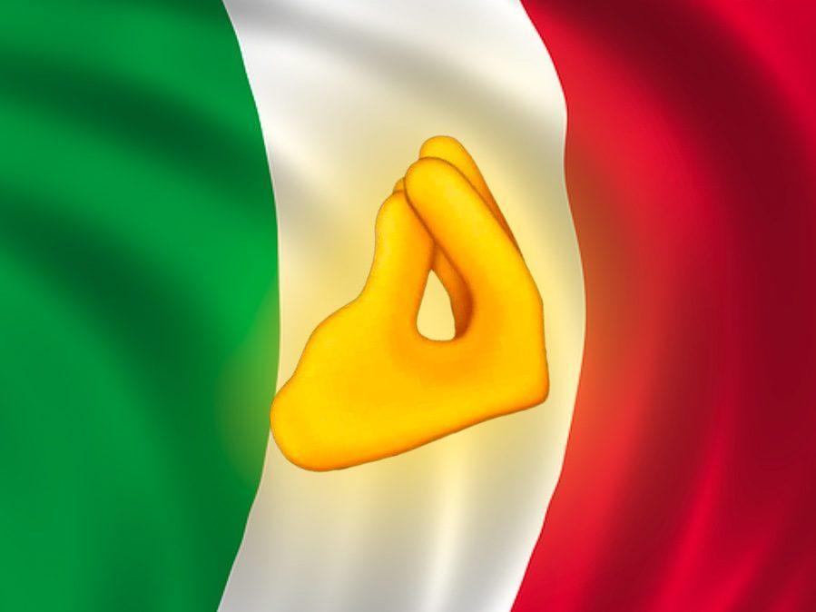 À Partir D'aujourd'hui Avec Ios 14.2, L'emoji Du Geste Italien