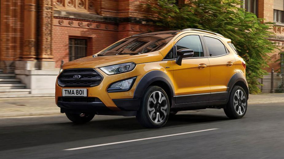 Le Nouveau Ford Ecosport Active Est Maintenant En Vente