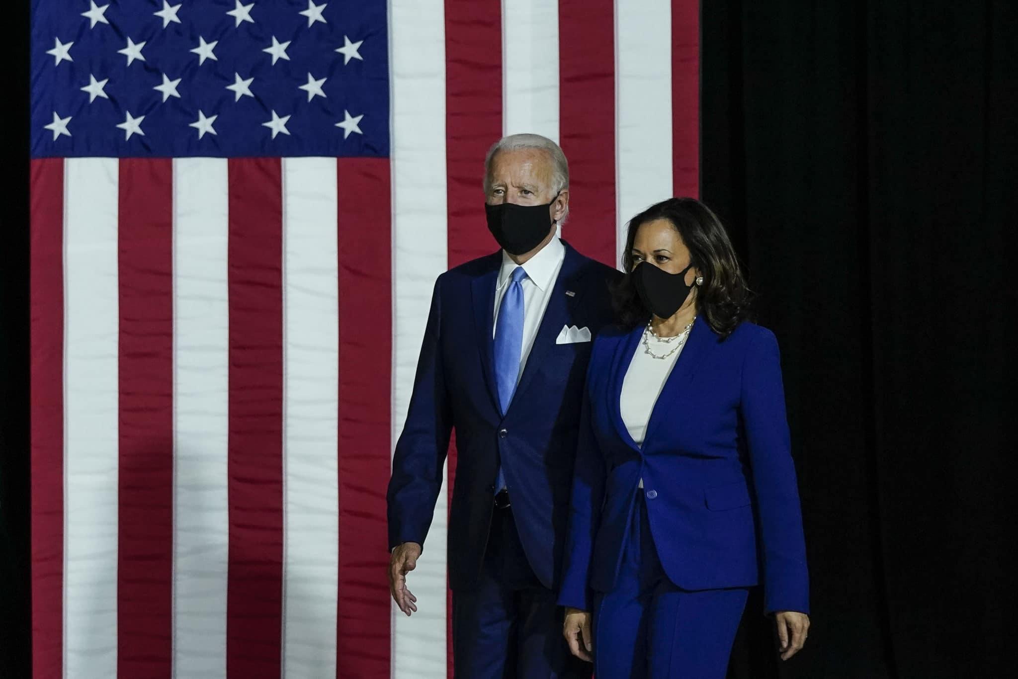 Plateforme électorale: les droits LGBT + étaient une planche des promesses de campagne de Joe Biden et Kamala Harris.  (Drew Angerer / Getty Images)