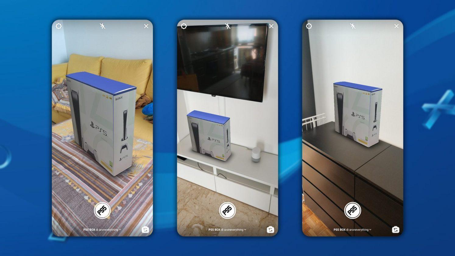 Ce Filtre Instagram Matérialise Une Playstation 5 Dans Votre Salon