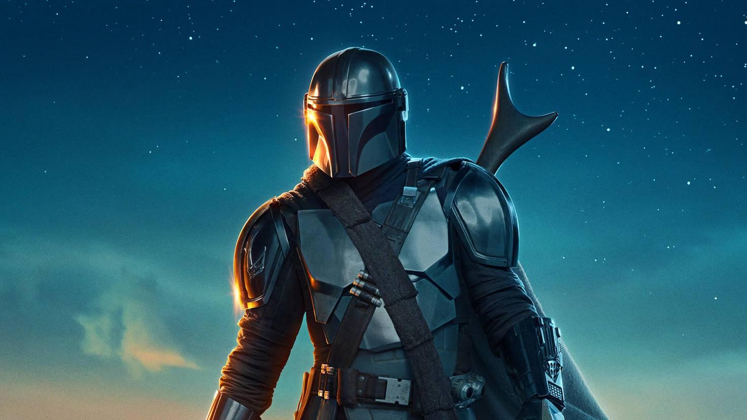 Affiche de la saison 2 de Mandalorian