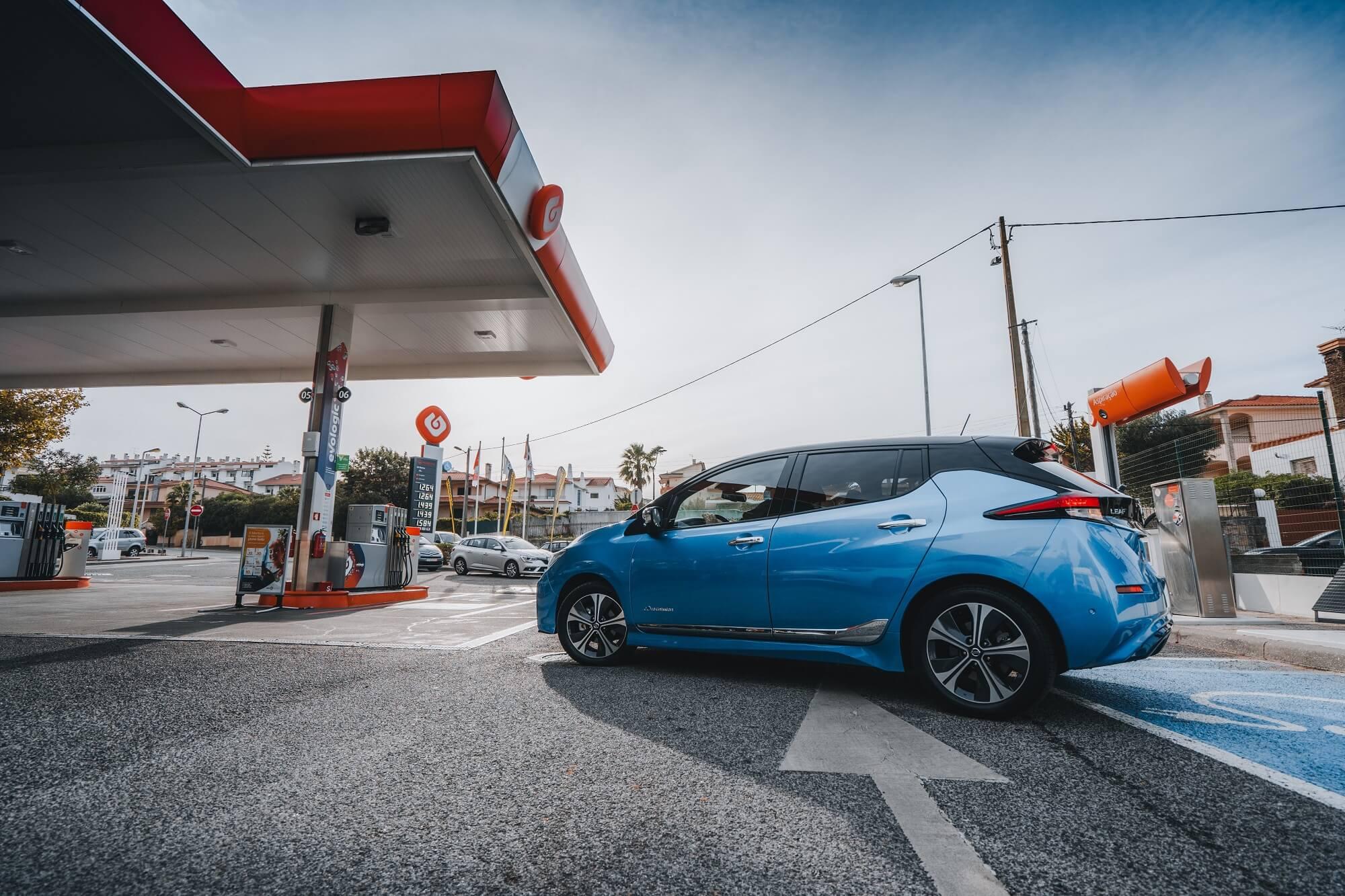 Bornes de recharge Nissan