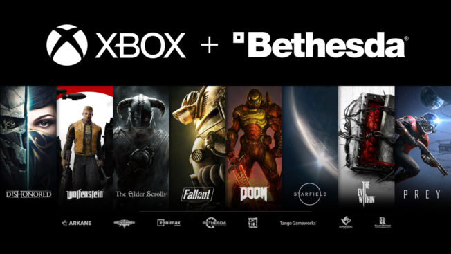 Xbox achète Bethesda
