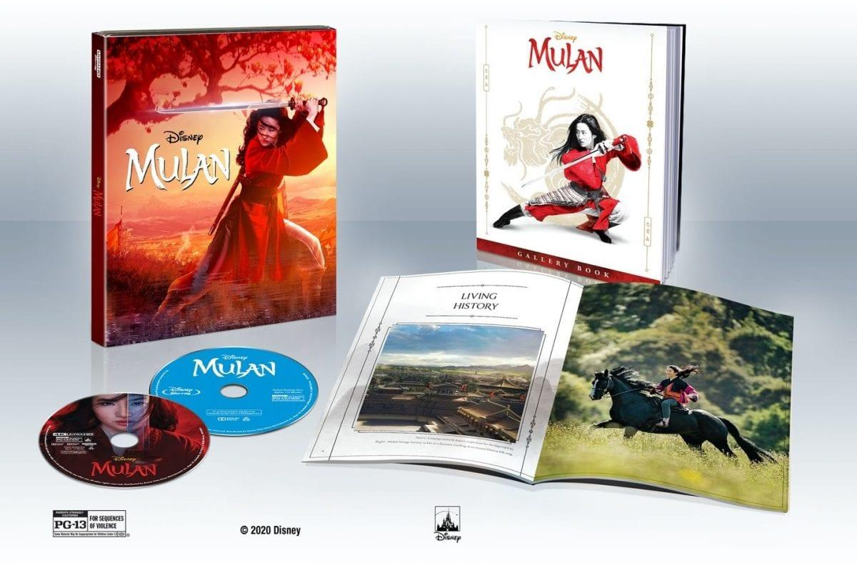 Les Deux Versions De Mulan Arrivent En 4k La Semaine