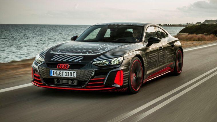 Audi Rs E Tron Gt. Nous Avons Déjà Conduit L'audi De