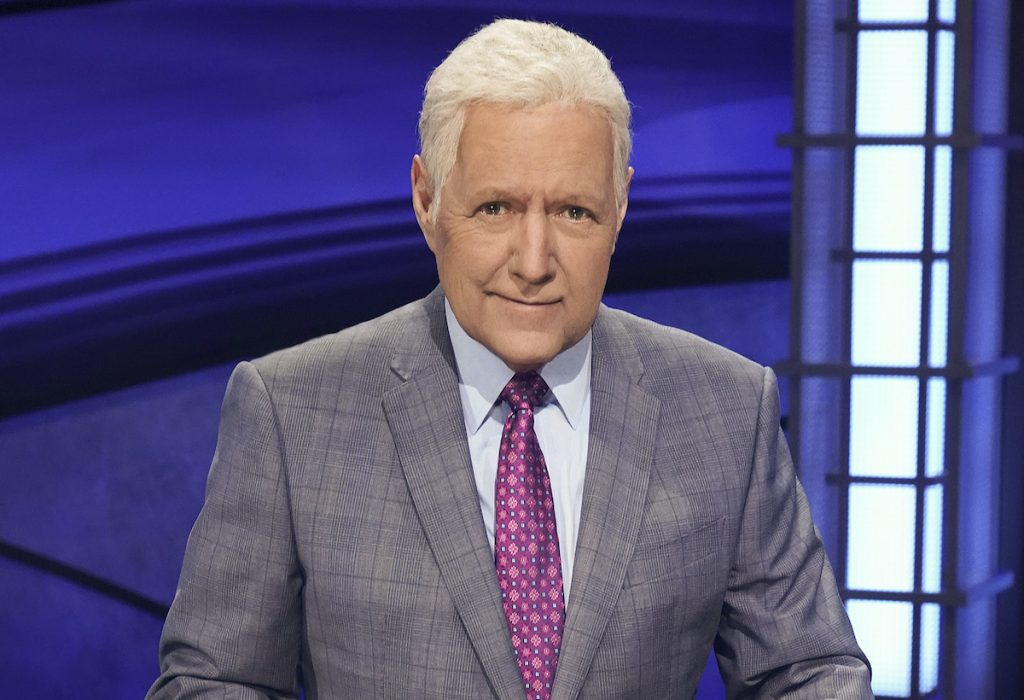 Alex Trebek sur «Jeopardy!»  |  Eric McCandless / Getty Images