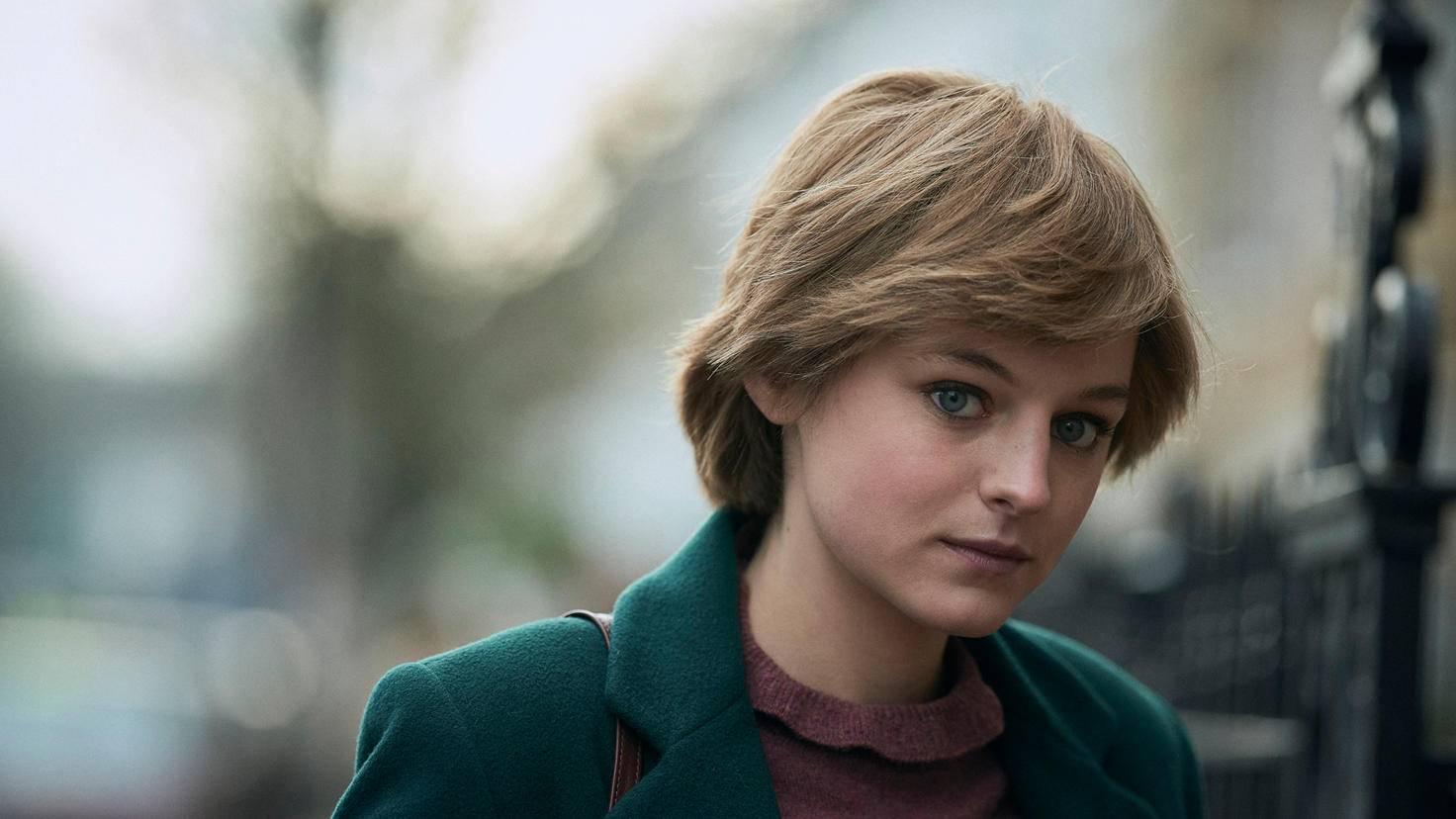 The Crown Saison 4 Diana Lady di Emma Corrin