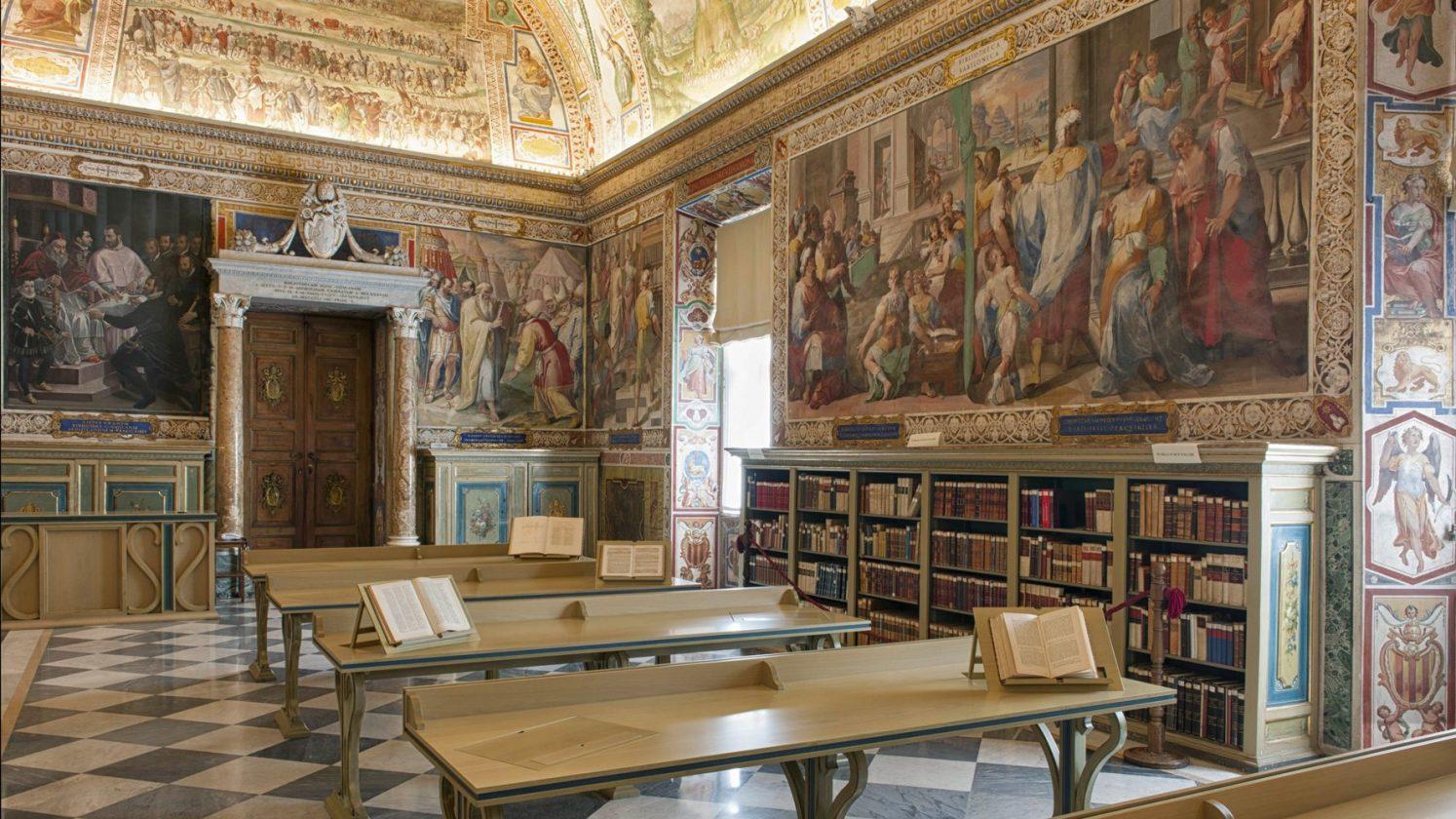 La Bibliothèque Du Vatican Utilisera Un Réseau De Robots Pour