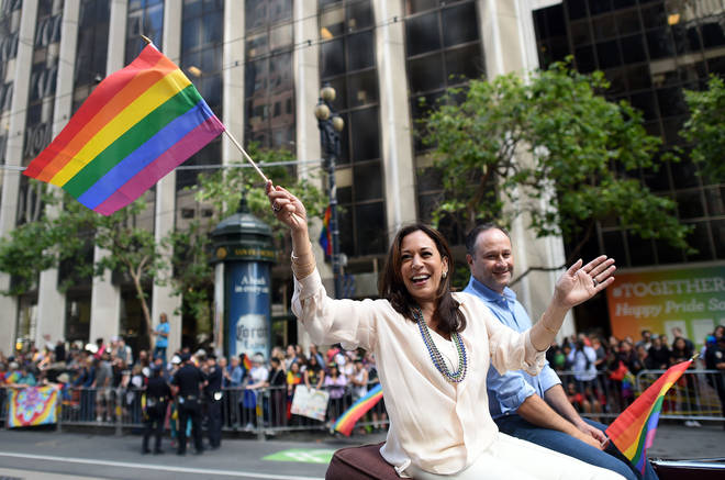 Gay Pride de Kamala Harris à San Francisco 2016