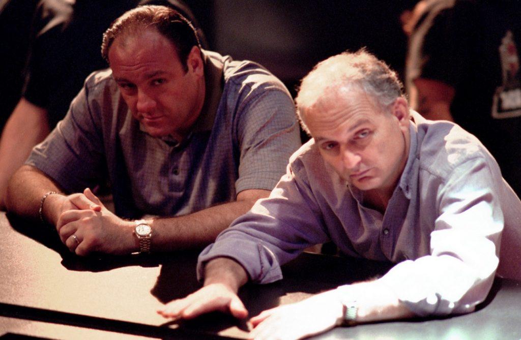 James Gandolfini et David Chase