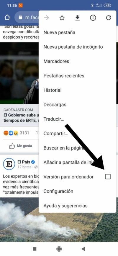 Version informatique de Facebook