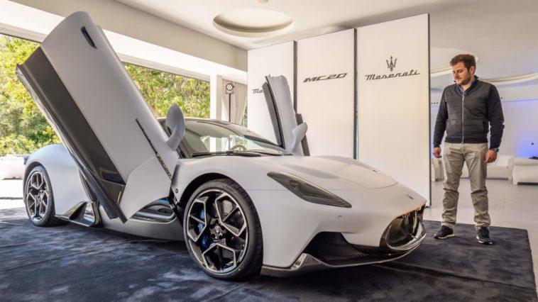 Maserati Mc20. Nous étions Avec La Nouvelle Supercar Italienne (avec