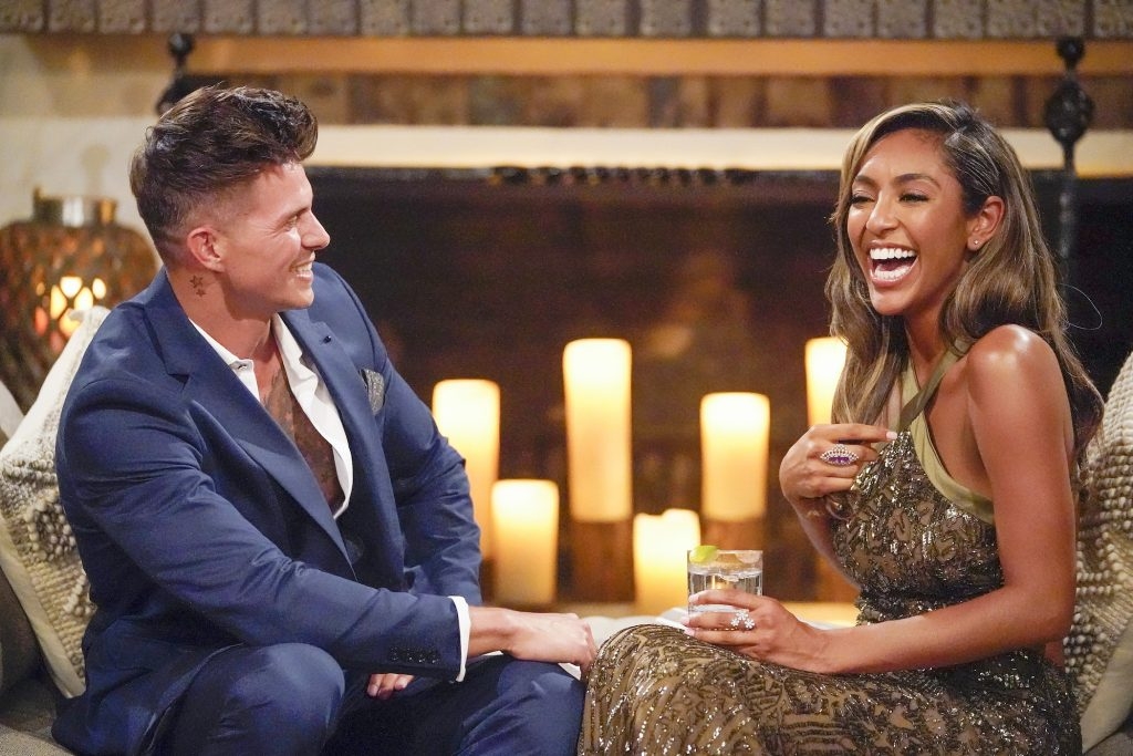 Tayshia Adams de 'The Bachelorette'