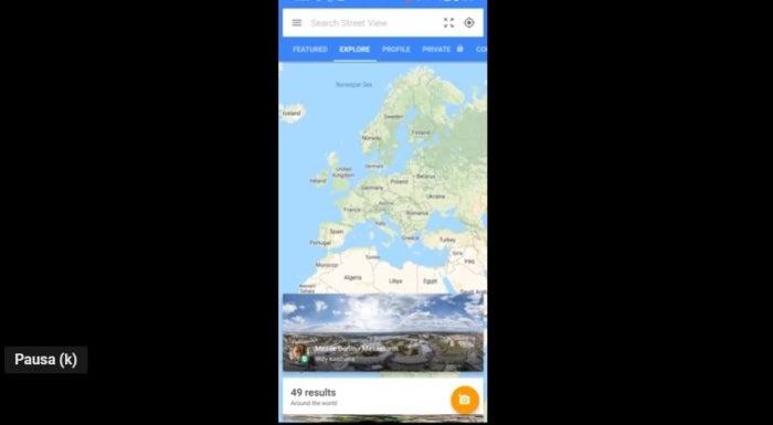 mode de conduite google maps