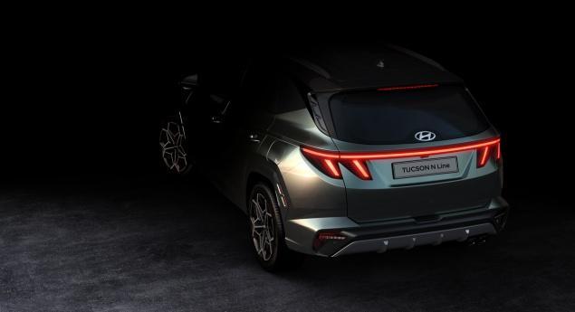 Hyundai Tucson N Line. Premières Images Officielles