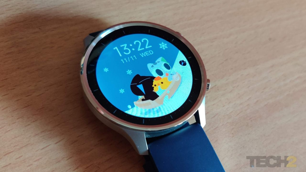 Mi Watch Revolve.  Image: Tech2 / Priya Singh