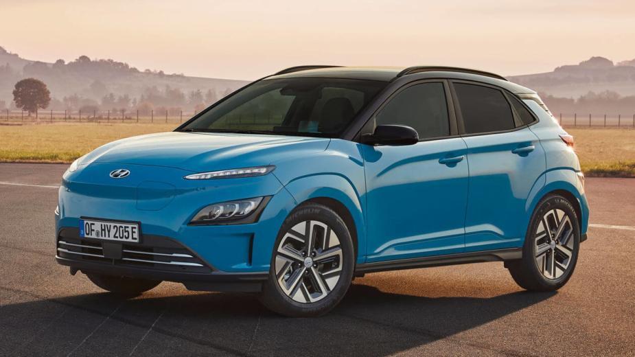 Hyundai Kauai Electric 2021. Un Nouveau Style Pour Le Suv