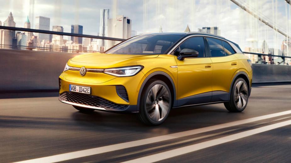 Id.4. Vous Pouvez Maintenant Pré Réserver Le Suv électrique Volkswagen
