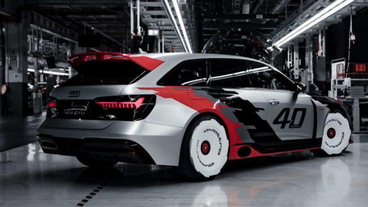 Audi Rs 6 Gto. C'est Ainsi Que Se Célèbre Le