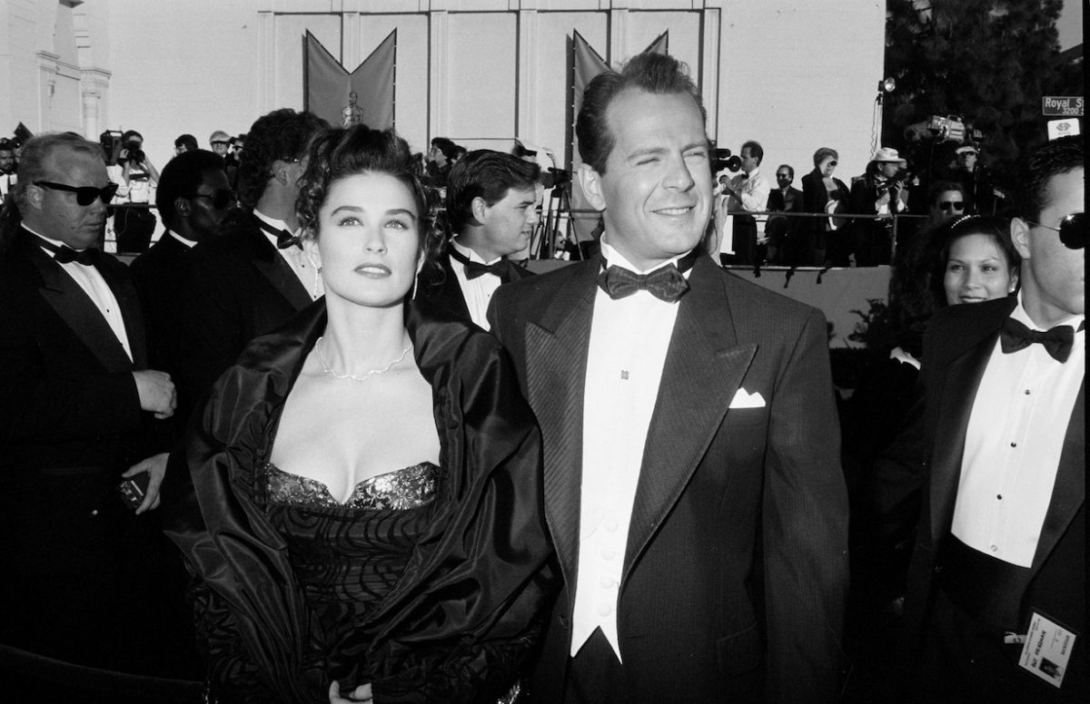 Demi Moore et Bruce Willis