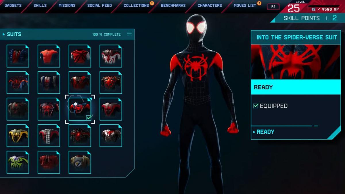 Comment Débloquer Le Costume Dans Le Spider Verse Dans Spider Man: Miles