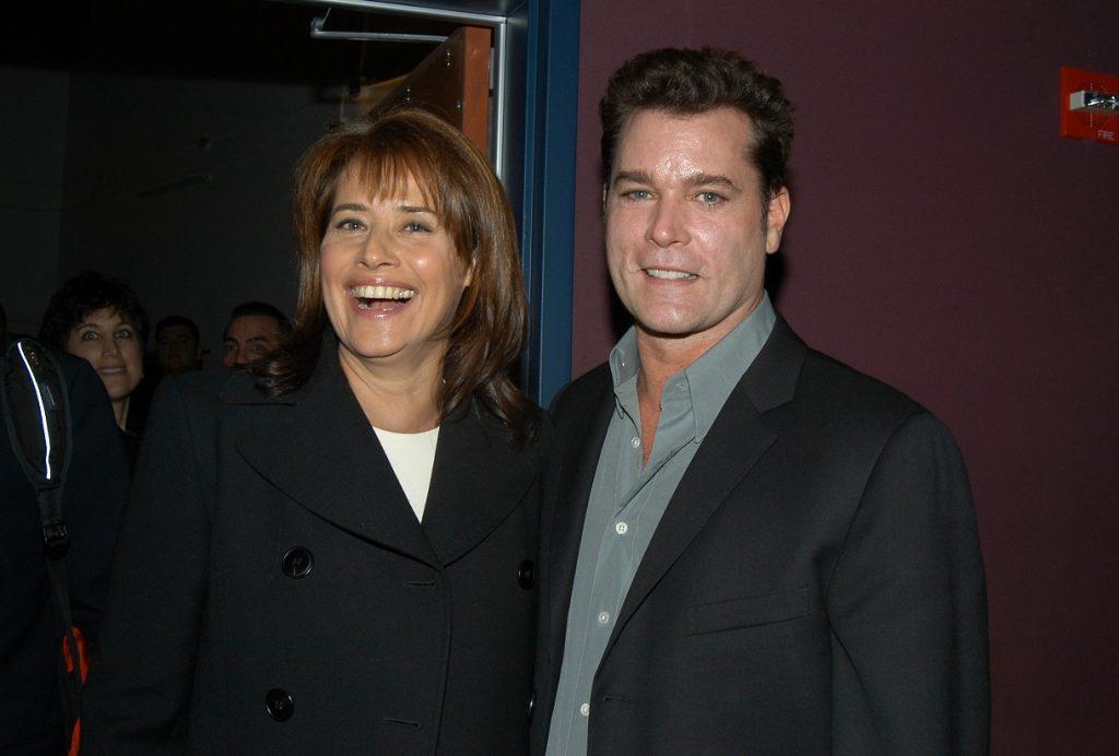 Lorraine Bracco et Ray Liotta lors d'une projection de Goodfellas