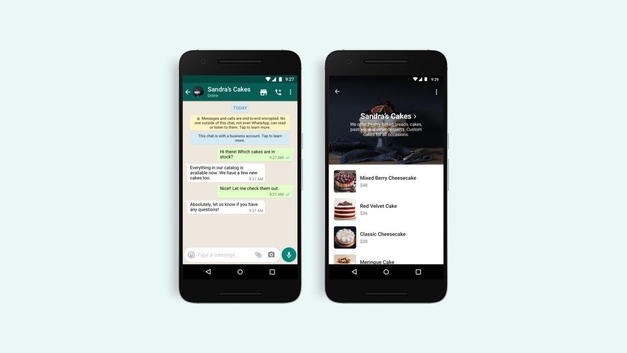 WhatsApp permettra désormais aux utilisateurs iOS et Android de parcourir les catalogues professionnels via sa nouvelle fonctionnalité d'achat