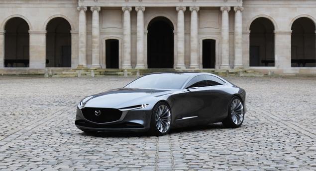 Pour La Prochaine Mazda6? Mazda Présente Un Nouveau Six Cylindres