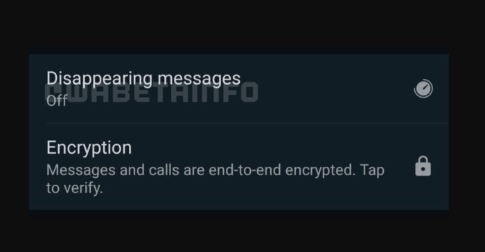 Messages de fonction qui disparaissent WhatsApp