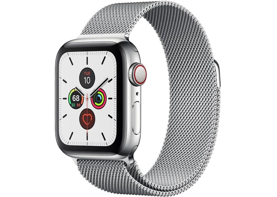 montre apple en métal