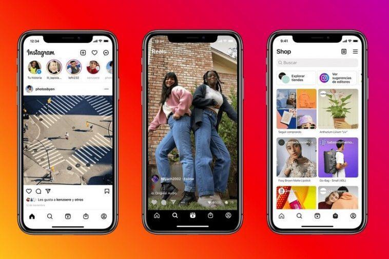 Instagram repense son application, les Reels et le Store sont désormais des protagonistes absolus