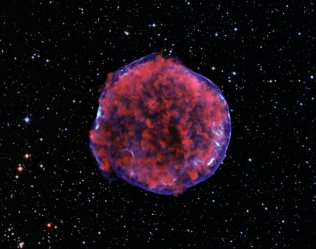 Les Explosions De Supernova Peuvent Avoir Contribué à Façonner L'histoire