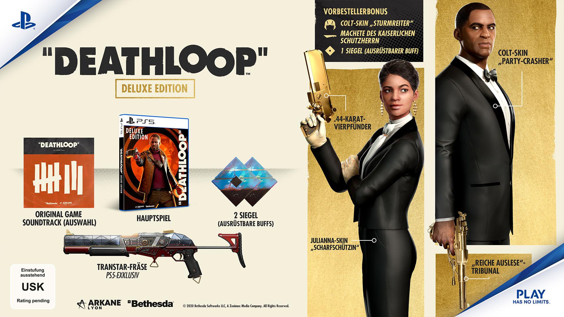 Deathloop Pre-Order Deluxe Edition