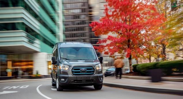 Ford E Transit Arrive En 2021 Avec Une Autonomie Allant Jusqu'à