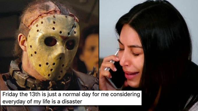 Friday 13th Memes: Toutes Les Réactions Les Plus Drôles Sur