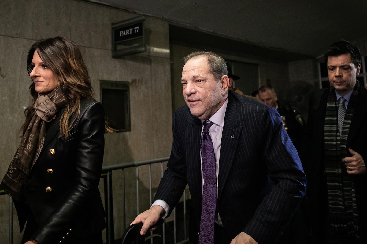 Harvey Weinstein part avec son avocate Donna Rotunno