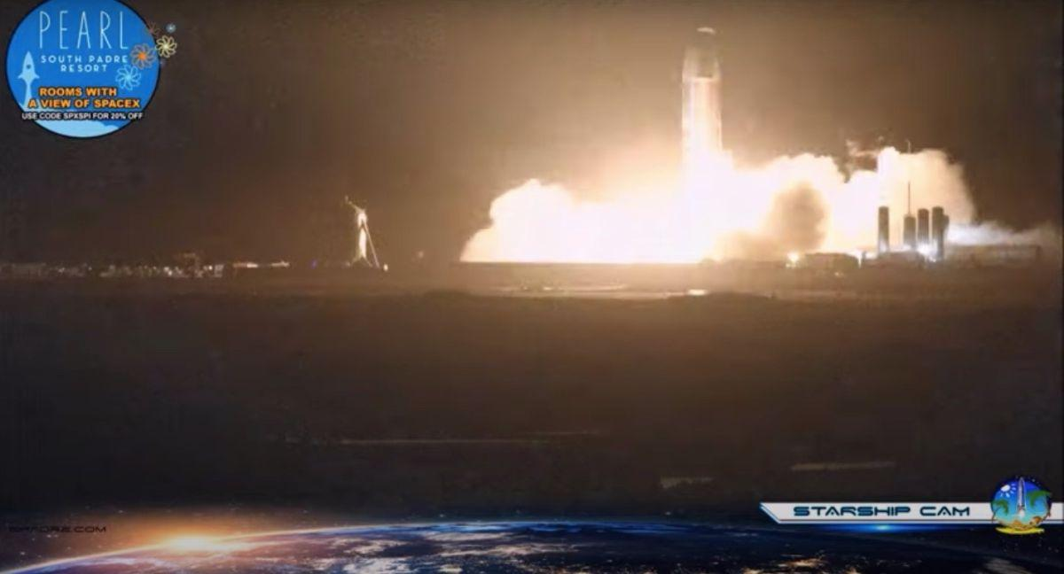 Le Prototype Starship Sn8 De Spacex Déclenche Des Moteurs Pour
