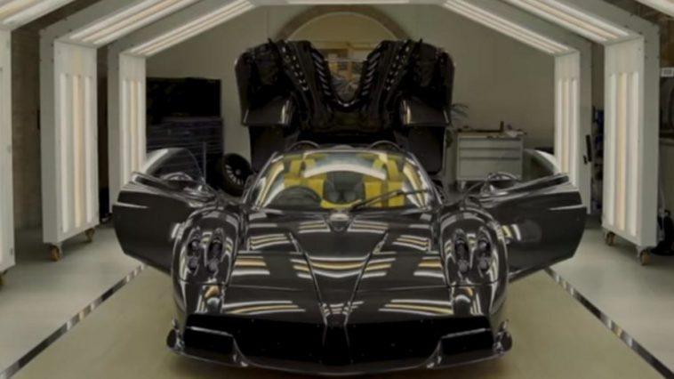 Il S'agit Du 100e Et Dernier Pagani Huayra Roadster Produit