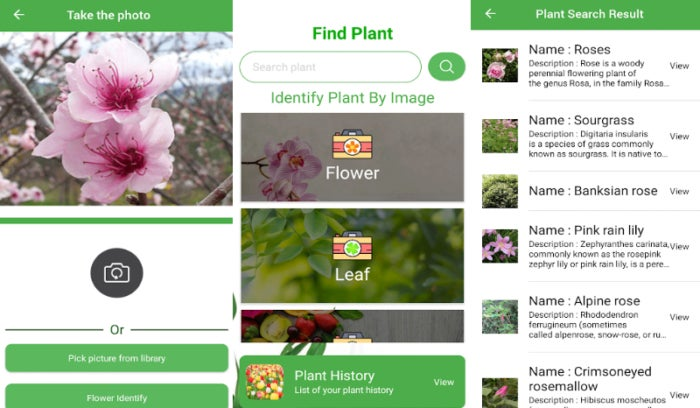 Application FindPlant