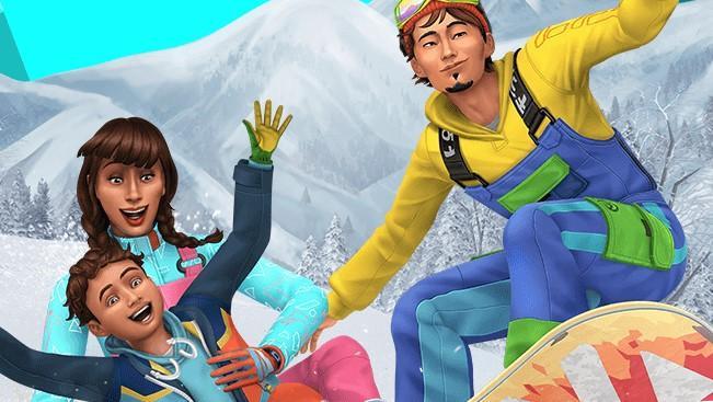 Les Sims 4: En Route Pour Le Paradis Des Neiges
